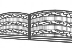 A2_brama-dwuskrzydłowa